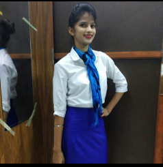 course in aviation- student of megaversity-Aarti