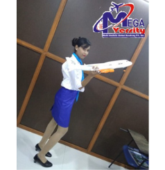 course in aviation- student of megaversity- pooja